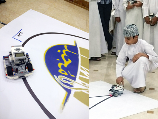 """إنطلاق مسابقة """"أنا مُجيد"""" للروبوت بتعليمية الظاهرة"""